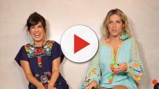 Assista: Em vídeo, Giovanna Ewbank passa trote para Fernanda Paes Leme