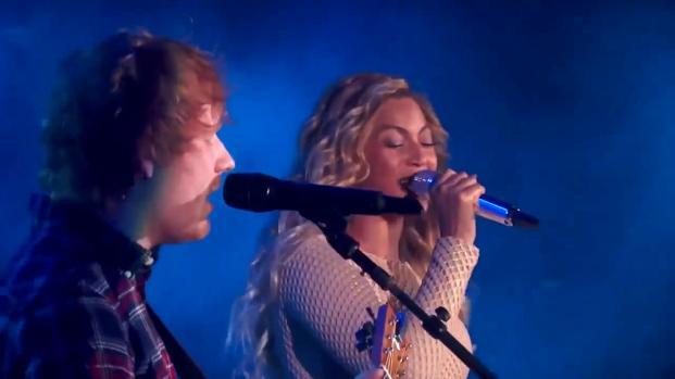 Ed Sheeran reveals an odd secret about Beyonce