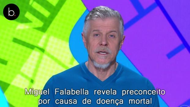 Miguel Falabella revela preconceito por causa de doença mortal; veja o motivo