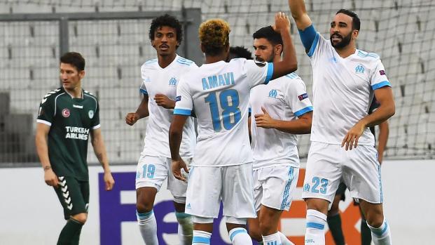 L'Olympique de Marseille qualifié sans briller
