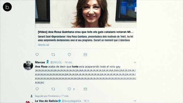 Ana Rosa Quintana la lía con Iceta