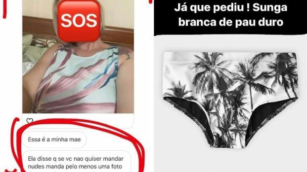Vídeo: fã pede nudes e ganha trollada de Caio Castro