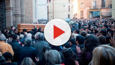 VIDEO: Multitudinaria despedida a las tres víctimas de Teruel