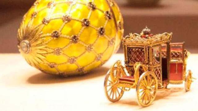 El arte del oro de Fabergé y sus huevos de Pascua