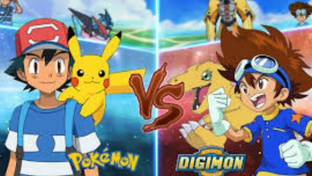 """""""Pokèmon"""" Vs """"Digimon"""" El debate"""