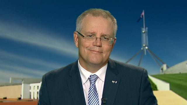 Coalición para trompeta disminución de la deuda bruta como Turnbull