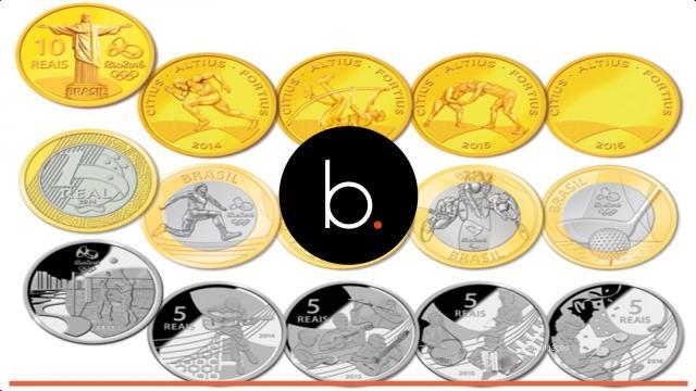 Video: saiba quanto valem hoje as moedas das Olimpíadas Rio 2016