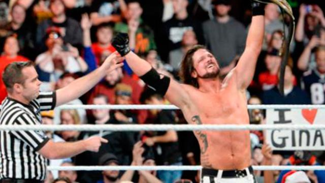 AJ Styles sigue como WWE Champion al vencer a Mahal en Clash of Champions