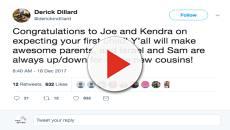 Derick Dillard congratulates Joseph and Kendra Duggar on their baby news