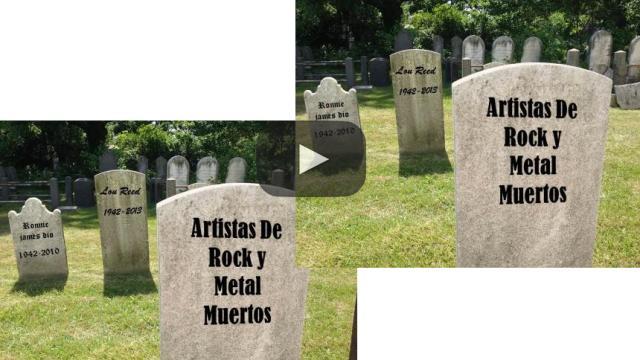 10 artistas de Rock y Metal que fallecieron en 2017