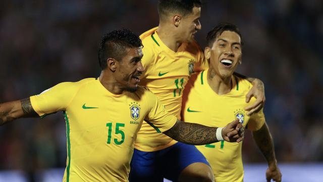 Paulinho y Coutinho se hacen titulares en Barcelona