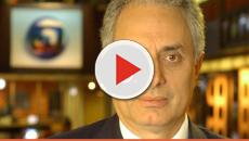 Assista: Globo demite apresentador William Waack após declaração racista