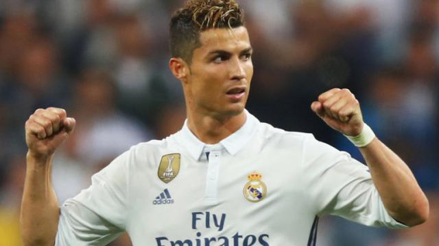 Cristiano Ronaldo del Real Madrid 100% en forma para El Clásico