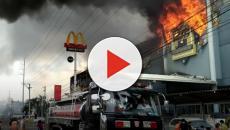 Vídeo: Incêndio em shopping deixou dezenas de mortos.