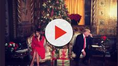 Melania and Donald Trump tweeted a Christmas message but got bad reaction