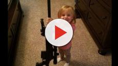 Jeremy Calvert gives his 4-year-old daughter a gun for Christmas, fans freak out