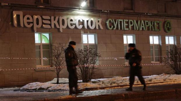 Russia, ordigno esplode in un supermercato a S. Pietroburgo
