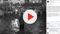 Vídeo: foto do réveillon em Copacabana impressiona