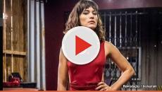 Assista:A atriz Bianca Bin, rega as plantas com sangue de menstruação