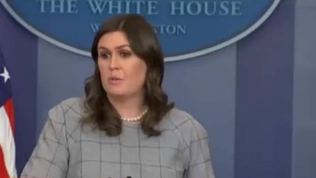 Sarah Sanders ripped on Twitter for blaming Obama for Trump nuclear button tweet