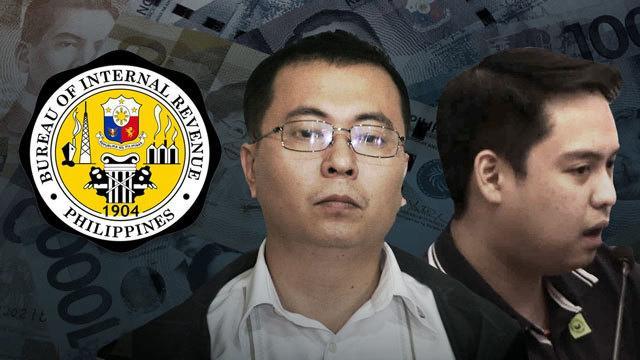 BIR presenta quejas por evasión fiscal contra Mark Taguba, Kenneth Dong