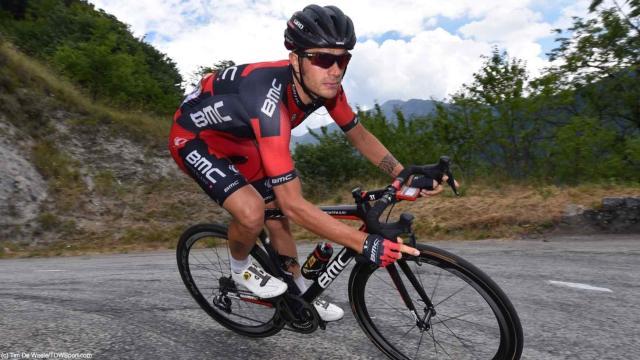 Ciclismo, Damiano Caruso: 'Nada se puede hacer contra el cielo'