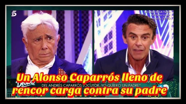 Duras declaraciones acerca de su padre da Alonso Caparrós