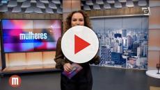 Víeo: apresentadora reaparece a visual choca
