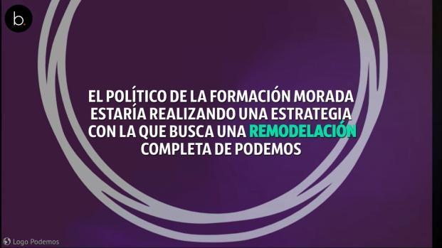 Vídeo: la increíble remodelación que Iglesias busca para Podemos