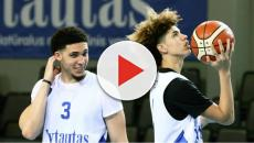 The Ball brothers make their professional debut in Lithuania
