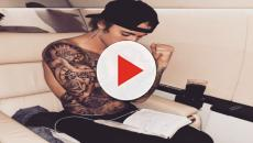 Was anything wrong with Justin Bieber reading the Bible while being shirtless?