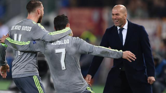 El entrenador del Real Madrid, Zidane dice: ¡Todos tenemos la culpa!