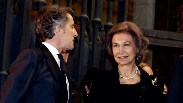 VIDEO: El viudo de la Duquesa de Alba es posible amante de la Reina Sofía