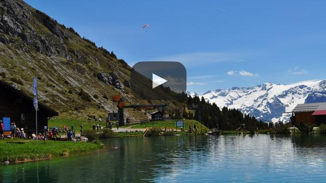 Miles de personas varadas en las estaciones de esquí Suizas