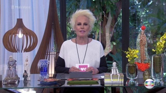 Vídeo: Ana Maria Braga dá esporro em Jimmy