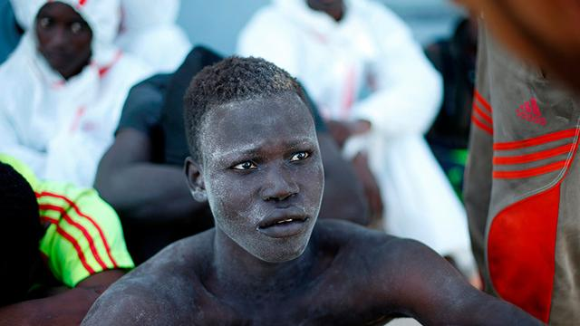Los africanos indignados por la esclavitud en Libia