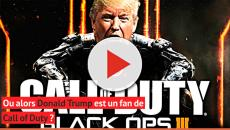 Donald Trump annonce la vente d'avions qui n'existent que dans Call of Duty