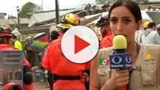 La reportera del caso Frida Sofia en el pasado terremoto en México