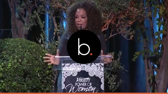 What was Oprah's speech really about?