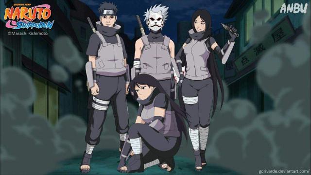 Los miembros de ANBU Konoha más fuertes en la historia