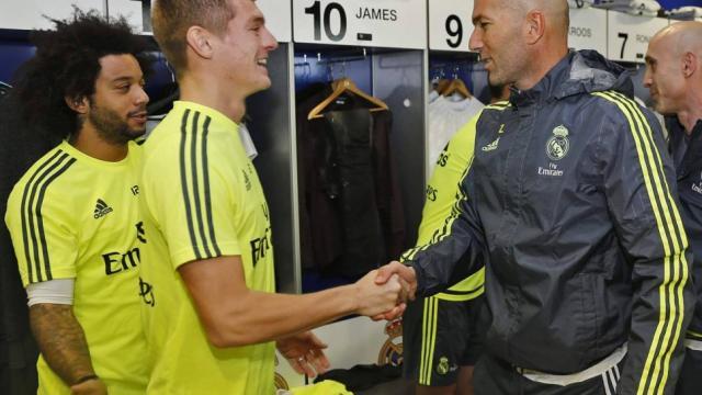 Zidane: ¡Estoy cansado de escuchar que todo está mal en el Real Madrid!