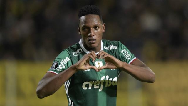 Yerry Mina es oficialmente jugador del Barça con el acuerdo del Palmeiras