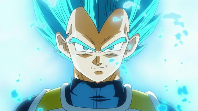El super Saiyan Azul completo / No es seguro