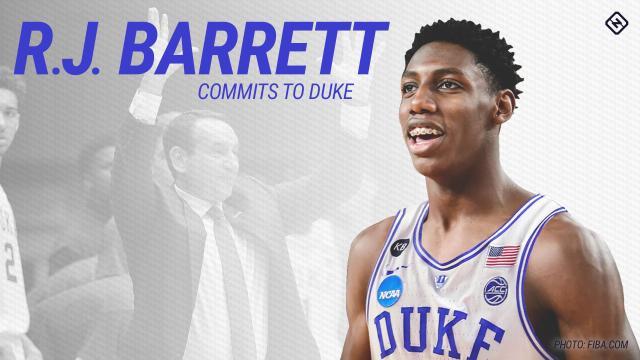 RJ Barrett, la estrella de secundaria que carga el baloncesto canadiense encima