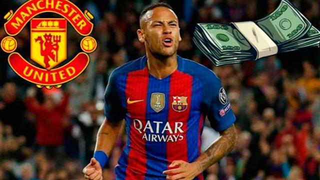 La cifra de locura que ofrece el Manchester United por Neymar