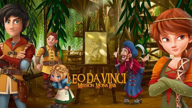 """Il film """"Leo da Vinci - Missione Monna lisa"""""""