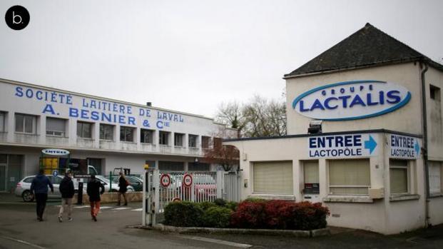 Affaire Lactalis : la totalité des produits de l'usine de Craon rappelés !