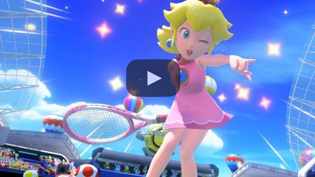 'Mario Tennis Aces' anunciado para el Nintendo Switch