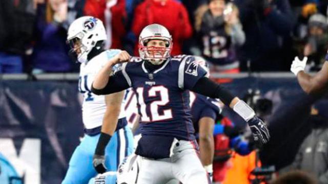 Los Patriots con el