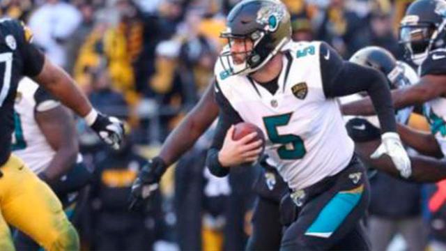 Jaguars con clutch Bortles y defensiva, ganan a domicilio 45-42 a los Steelers